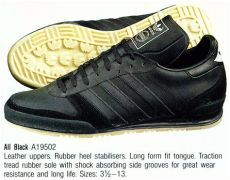 crooked tongues trainers adidas all black trainers adidas at crookedtongues selling soles since 2000 black