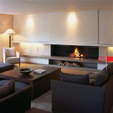 fotos de salas modernas con chimeneas 10 salas modernas con chimenea ideas para decorar dise 241 ar y mejorar tu casa