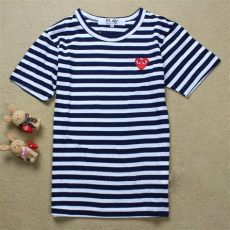 comme des garcons play shirt sizing 100 cotton quality comme des garcons cdg play tshirts 4 color striped