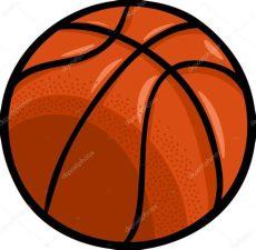 balon de basquetbol dibujo animado basketball clip stock vector 169 izakowski 54506759