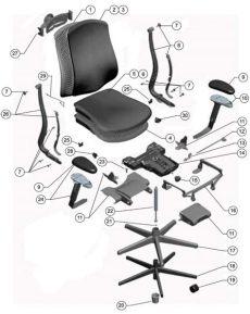 herman miller chair parts herman miller celle chair parts authorized retailer and warranty service center aeron mirra