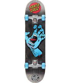 santa cruz screaming hand skateboard review santa screaming black 7 5 quot skateboard complete