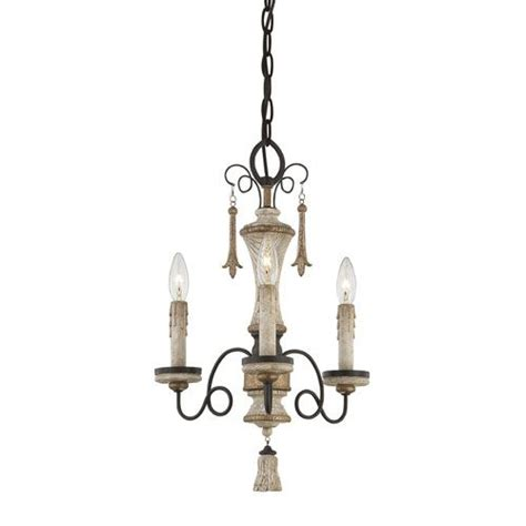 qty 2 accents provence pantina light mini chandelier