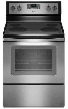 cocina electrica whirlpool usada wfe515s0es whirlpool 5 3 cu ft freestanding electric range with easy wipe cooktop stainless