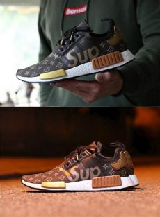 louis vuitton nmd collab supreme x louis vuitton nmd the adidas nmd r1 is arguably the most popular sneaker silhouette