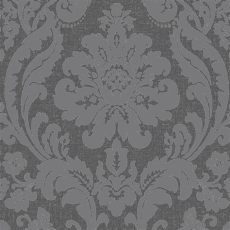 camden damask wallpaper charcoal copper colours zara charcoal damask glitter effect wallpaper departments diy at b q