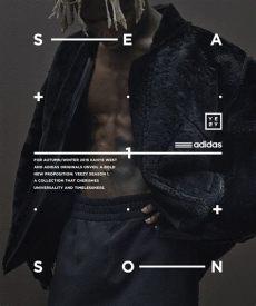 adidas originals x kanye west yeezy season 1 on behance - Yeezy Season Poster