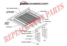 genuine alumawood replacement parts patiocovered - Aluminum Patio Cover Replacement Parts