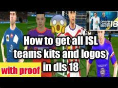 how to get all isl teams jerseys kits and logos in dls 18 - Dls 18 Kit Isl