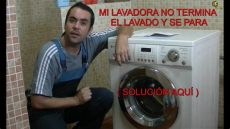 porque mi lavadora no lava como reparar una lavadora lavadora se para y no termina el lavado