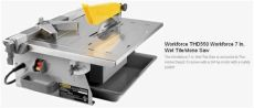 i a workforce thd550 tile saw after changing the blade it runs backward why the home - Workforce Tile Cutter Thd550 Manual