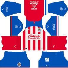 dls chivas kit 2019 chivas de guadalajara kits 2019 2020 league soccer
