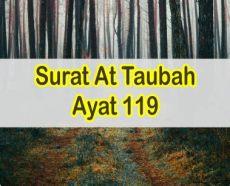 at taubah ayat 119 latin ayat alquran tentang akhlak nabi muhammad
