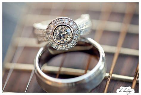 wedding rings guitar strings