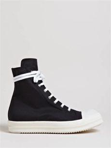 rick owens ramones sneakers lyst drkshdw by rick owens scuba high sneakers in black for