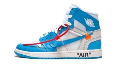 air jordan 1 retro high off white university blue air 1 retro high white blue aq0818 148 wethenew