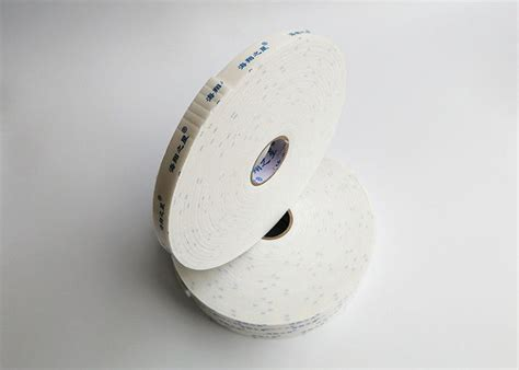 pressure sensitive adhesive double sided sponge tape construction