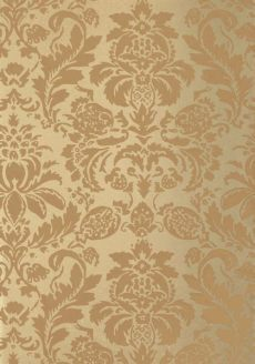 delancy damask wallpaper gold lyndon damask wallpaper in tobacco on metallic gold from the neutral resource collection
