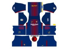 jersey kit dls 18 barca dls 18 kits barcelona 2018 league soccer barcelona kit url