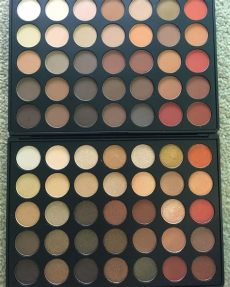 morphe eyeshadow palette 350m makeup morphe 350m 350s eyeshadow palette review