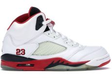 5 retro 2006 136027 162 - Air Jordan 5 Fire Red 2006
