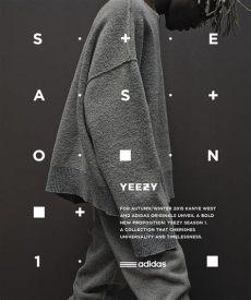 yeezy season poster adidas originals x kanye west yeezy season 1 on behance