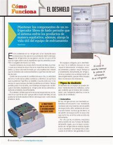 como funciona el deshielo de un refrigerador el deshielo en refrigeradores como funciona