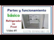 como funciona una nevera no frost c 243 mo funciona un refrigerador o nevera no sus partes