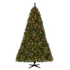 martha stewart living 9 ft prelit led alexander martha stewart living 9 ft pre lit led pine