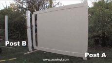 veranda vinyl fence gate installation instructions veranda vinyl fencing installation mycoffeepot org