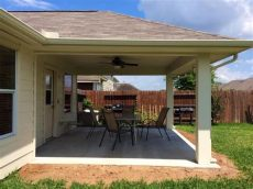 imbrogno hip roof patio cover houston - Cost To Build A Covered Patio Attached To A House