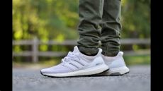 adidas ultra boost on feet white adidas ultra boost white 1 0 on