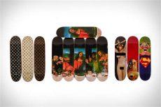 supreme skateboard deck collection supreme skateboard deck collection uncrate