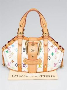 louis vuitton multicolor bags for sale louis vuitton white monogram multicolor theda gm bag yoogi s closet
