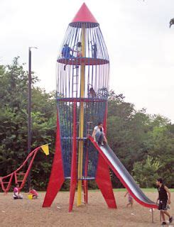 rocket dangerous playground equipment lot fun childhood memories