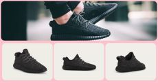 adidas originals x kanye west yeezy boost 350 v2 the kanye west x adidas originals yeezy boost 350 quot black quot will be available on 22 august huney