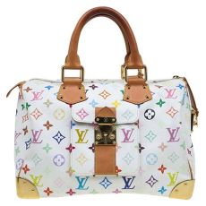 louis vuitton multicolor bag price buy louis vuitton white multicolor monogram canvas speedy 30 bag 76308 at best price tlc