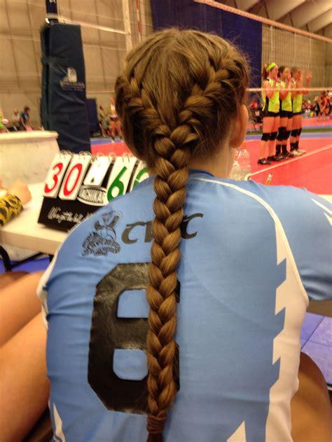 volleyball hair sporty hair pinterest sporty hair love