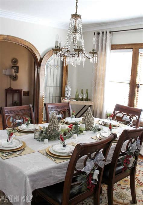 5 tips decorating dining room christmas