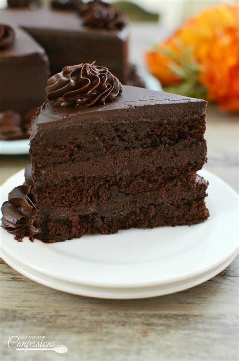 ultimate homemade chocolate cake recipe confessions