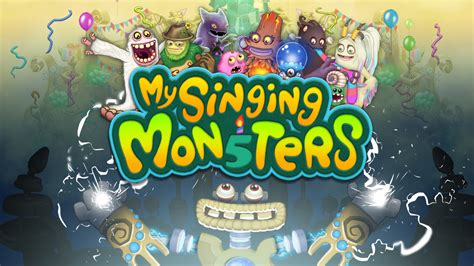 singing monsters series big blue bubble