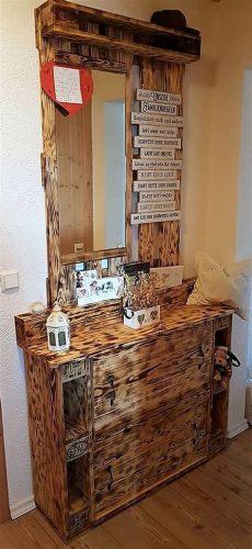 pallet wood vanity plans original diy ideas for wooden pallets recycling wood pallet furniture