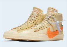 white nike blazer orange all hallows where to buy sneakernews - Nike Off White Blazer Orange