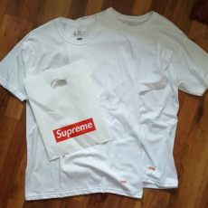 supreme hanes tagless tees review 100 authentic supreme x hanes tagless medium s