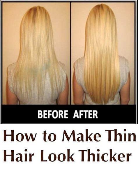 5 genius ways thin hair thick hairstyles hair