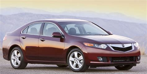 2009 acura tsx test drive review redesign bides