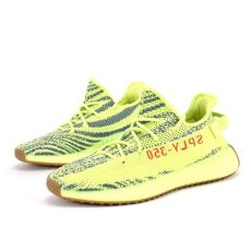 yeezy boost 350 v2 semi frozen yellow on feet yeezy boost 350 v2 semi frozen yellow semi frozen yellow steel r solemate sneakers