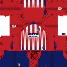 atletico madrid 2018 19 kit league soccer kits kuchalana - Kit Atletico De Madrid 19 Dls