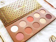 zoeva caramel melange eyeshadow palette warm toned palette for fall zoeva caramel melange eyeshadow palette review and
