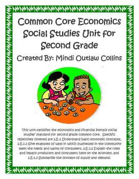 common core economics social studies unit grade tpt